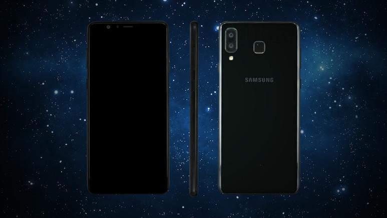 Galaxy A8 Star kendisini gösterdi!