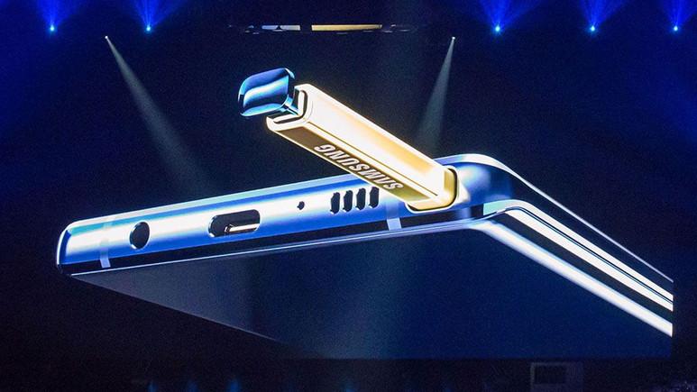 Galaxy Note 9 ışık sızıntısı sorunu