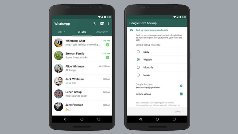 WhatsApp yedekleri tehlikede