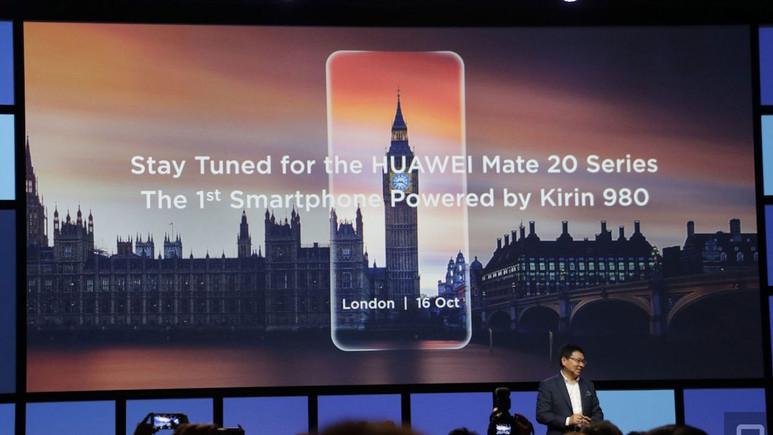 Huawei Mate 20 tanıtım tarihi belli oldu