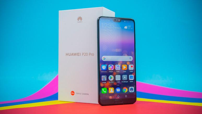 Huawei P20 Pro ve P20'den büyük başarı!