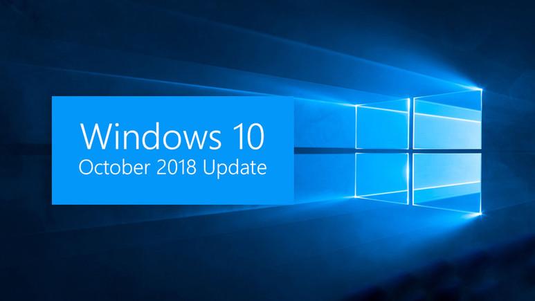 Windows 10'a October 2018 Update geliyor