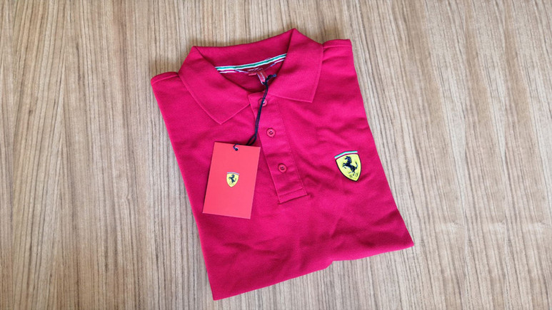 Ferrari logolu tişört hediye ediyoruz!