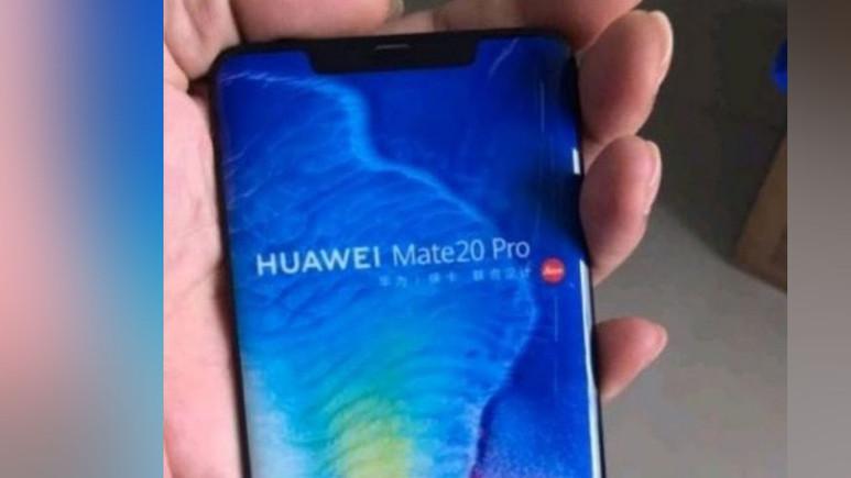 Huawei Mate 20 Pro yeniden sızdı