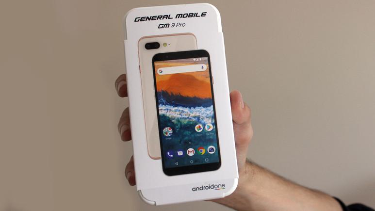 General Mobile GM 9 Pro kutudan çıkıyor (Video)
