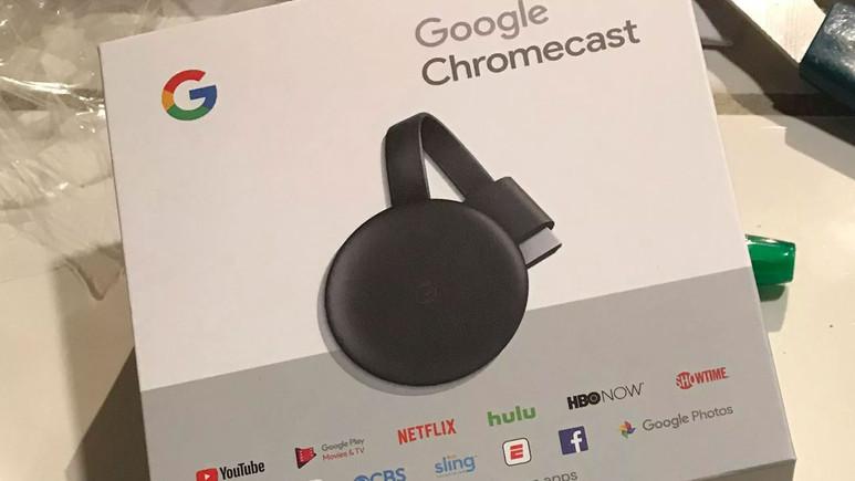 Yeni Chromecast duyurulmadan satışa çıktı
