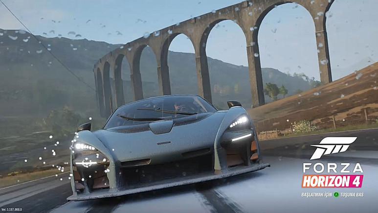 İlk Türkçe Microsoft oyunu: Forza Horizon 4 inceleme (Video)