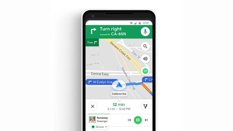 Google Maps müzik çalacak!