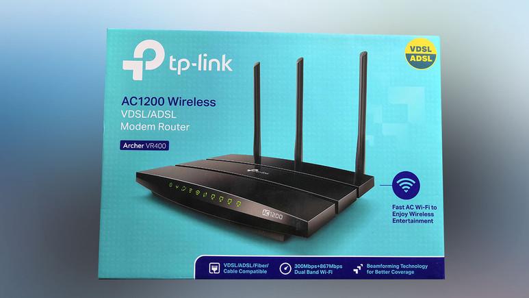 VDSL/ADSL Modem Router sahibini buldu!