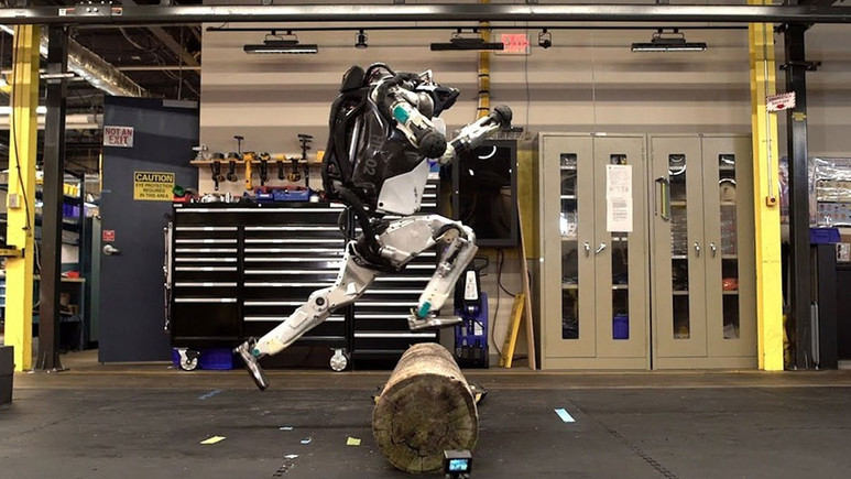 Atlas robot artık daha kabiliyetli (Video)