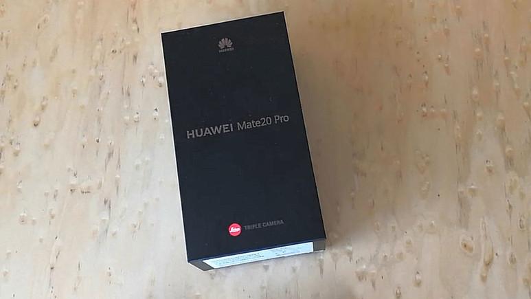 Huawei Mate 20 Pro kutudan çıkıyor! (Video)