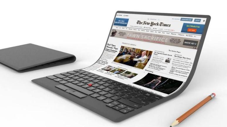 Samsung katlanabilir ekranlı bilgisayar üretebilir