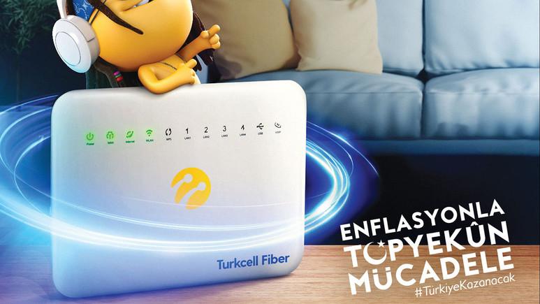 Turkcell'den enflasyonla mücadele için yeni kampanya