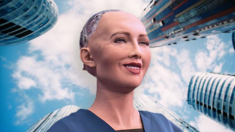 Robot Sophia vize alarak bir ilke imza attı!