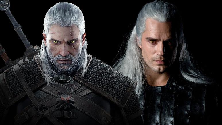 The Witcher dizisinden Geralt ilk kez gözüktü!