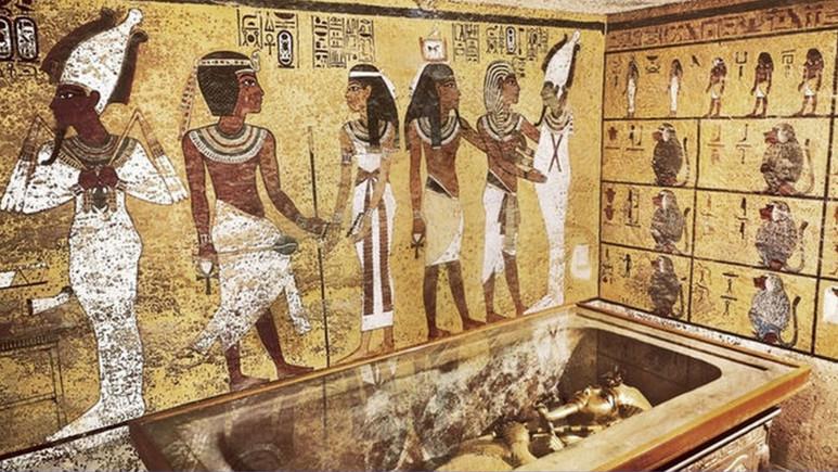 Mısır'da firavun mezarı bulundu!