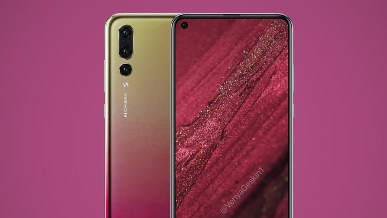 Huawei Nova 4 görselleri sızdı!