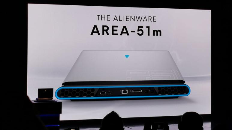 Alienware Area-51m alışılmışın dışına çıkıyor!