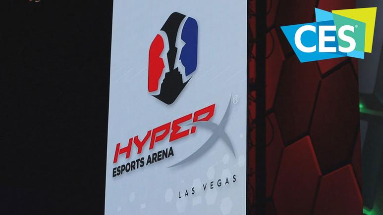 Las Vegas'ta HyperX eSports Arena'yı gezdik (video)