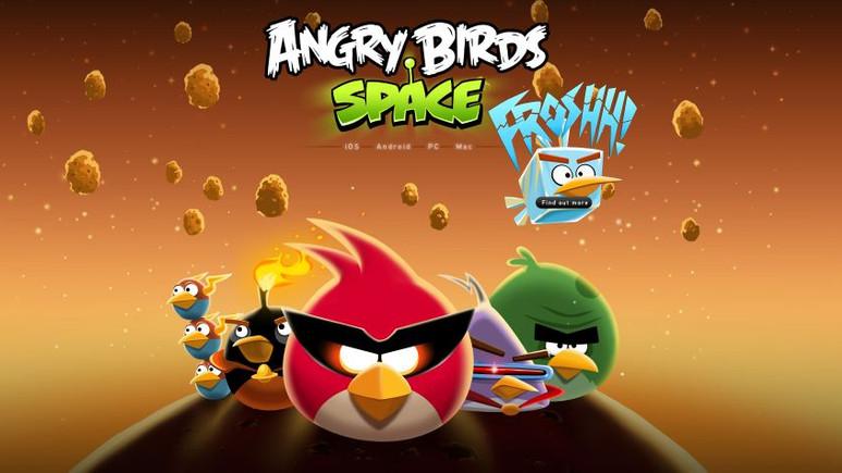 Angry Birds Space Windows Phone'a geliyor!