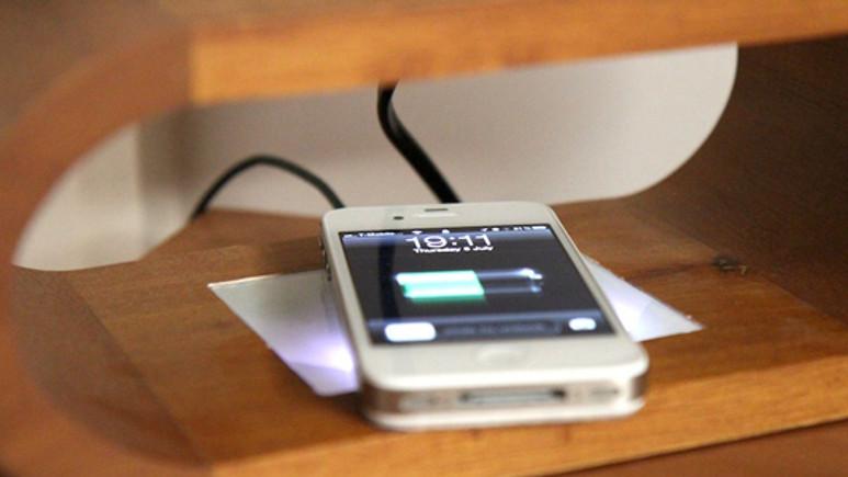 iPhone 4S'e yepyeni bir şarj teknolojisi!