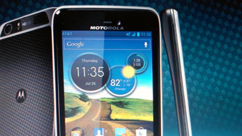 Motorola ATRIX HD satışa çıkıyor!