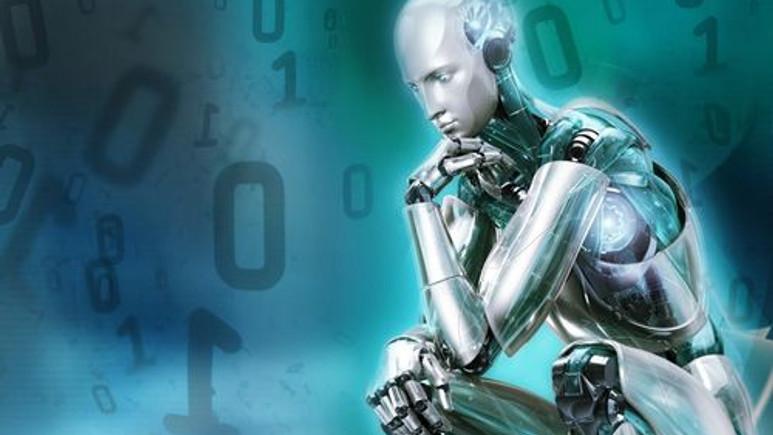 2 metrelik robot Cenevre'de tanıtıldı