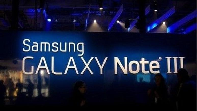 Galaxy Note 3'e üç renk seçeneği!