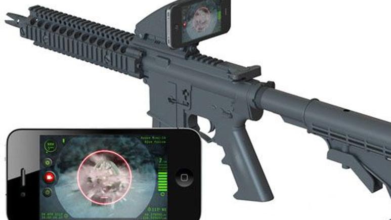 Silah teknolojisi oyunla birleşiyor