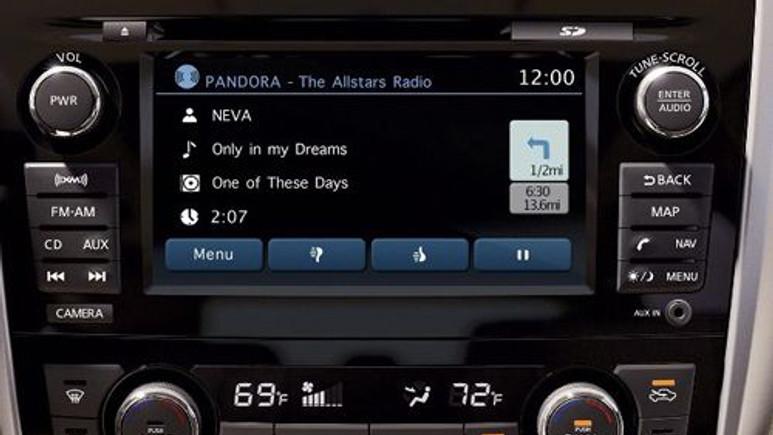 Pandora'ya Nissan bağlantısı geldi