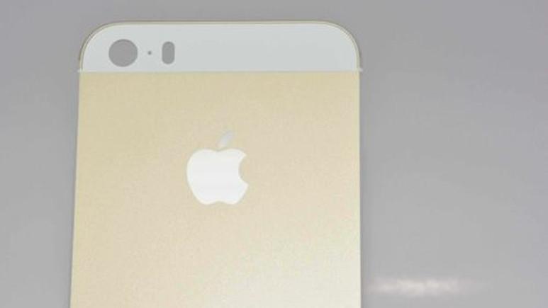 Şampanya rengi iPhone 5S'in en net görüntüleri
