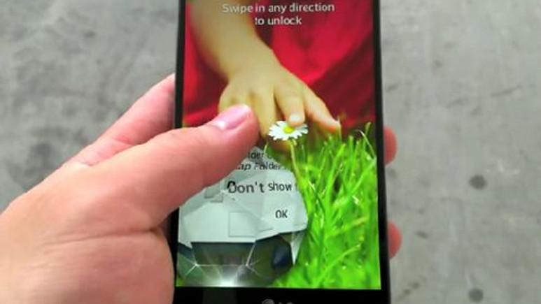 LG G3'ün QHD ekran görüntüsü sızdırıldı