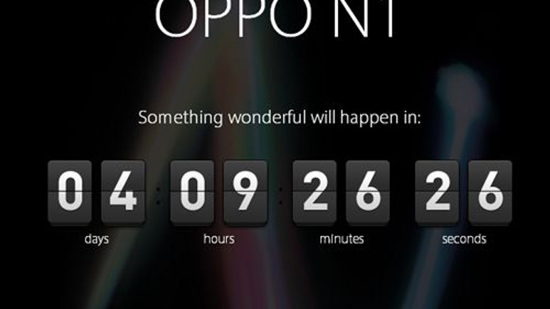 Oppo N1 için geri sayım başladı