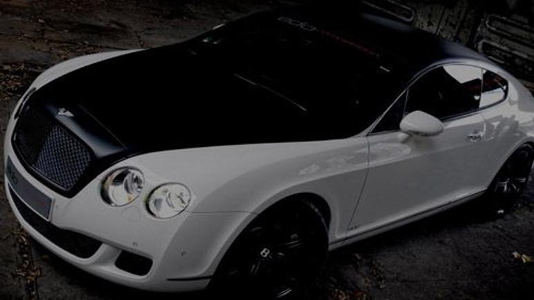 Bentley Continental GT hız testinde