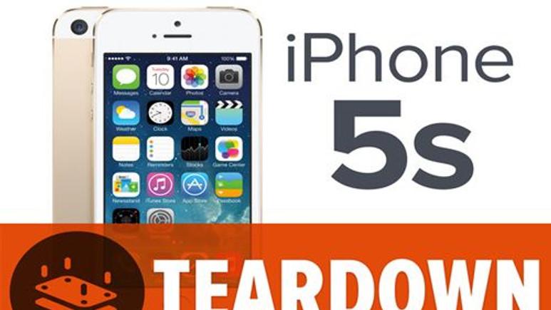 Apple iPhone 5S parçalara ayrıldı! Video