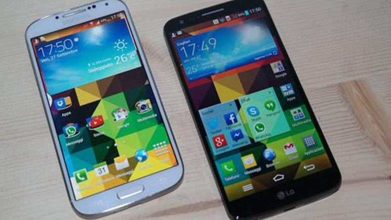 Günün sorusu: Hangisi daha iyi? Galaxy S4 vs LG G2!