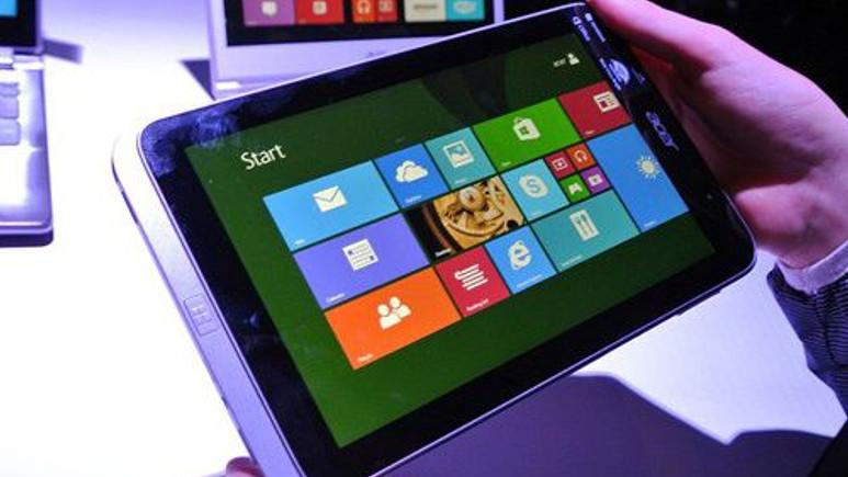 Acer Iconia W4 Tablet IPS ekran ile görüntülendi