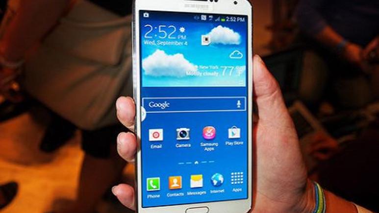 Galaxy Note 3 için bir güncelleme daha yayınlandı