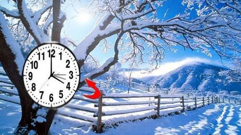 Kış saati uygulaması başladı!