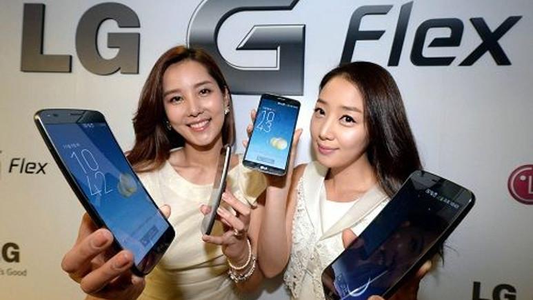 LG G Flex birçok ülkede satışa sunulacak