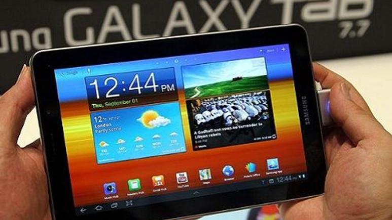 Samsung, AMOLED ekranı tabletlerde kullanacak!