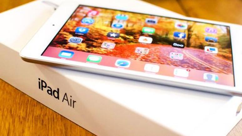 Apple'ın yeni tableti iPad Air mağazada yangın çıkardı!