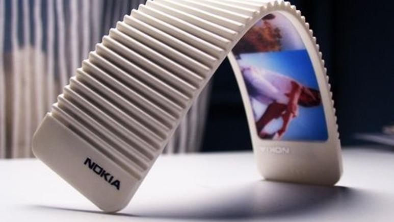 Nokia'nın yeni umudu gerçekten esneyebilen akıllı telefonlar!