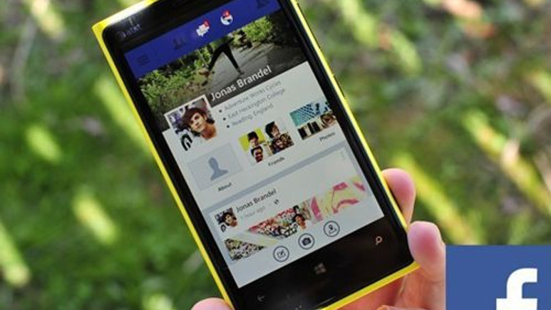 Windows Phone 8 için Facebook beta