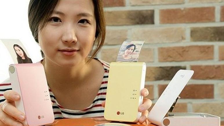 LG Pocket Photo 2, CES 2014'te sergilenecek!
