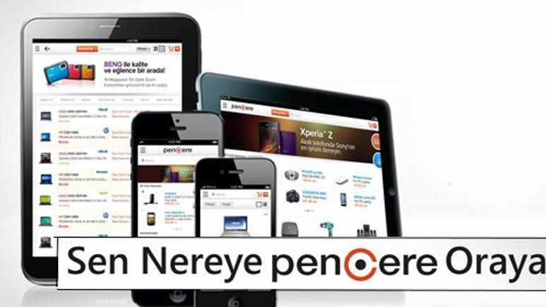 Pencere.com mobil uygulaması ile keyifli alışveriş dönemi başladı!