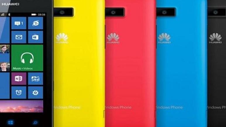 Huawei'den Windows Phone 8'li bir telefon daha!