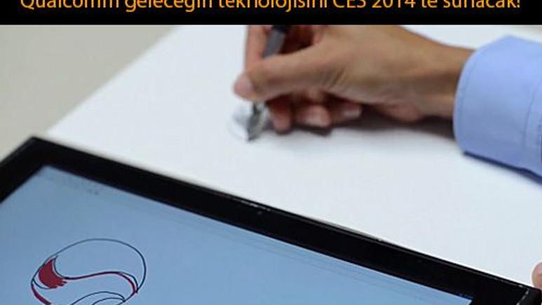Qualcomm, kağıttaki çizimi eş zamanlı olarak tablete aktaracak!