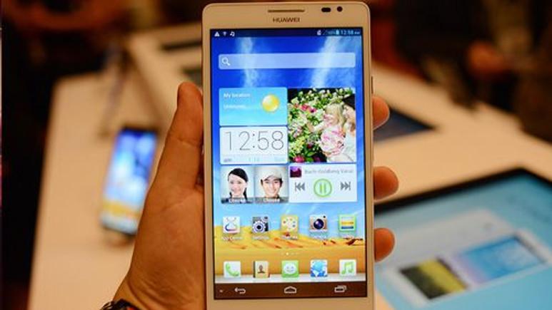 CES 2014: Huawei dev ekranlı Ascend Mate 2'yi tanıttı!