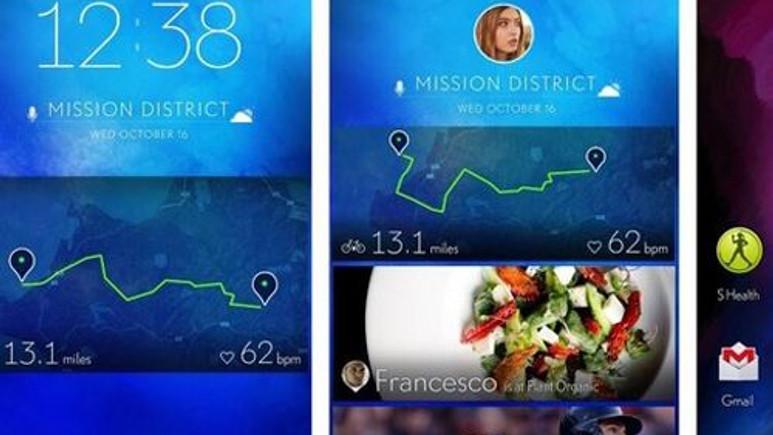 Samsung yeni bir ara yüz deniyor